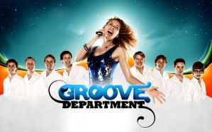 Groove Department band poster by Eyecatcher33
