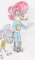 Sonic and Anti-Sally: She's In Control! by ClassicSonicSatAm