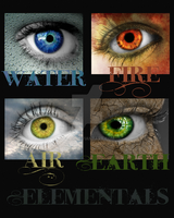 Elemental Eyes Set by LLAP