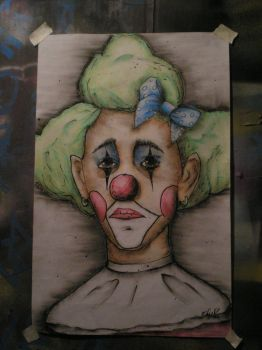 sad clown 4 by SpawnoftheED