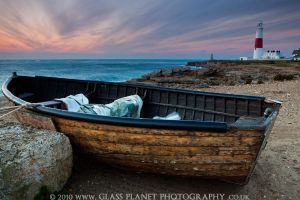 Boat Sunrise by cuffbertt