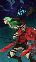 GLTAS: Attack on Manhunter by carrinth