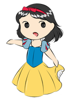 Snow White by Aizu-chan