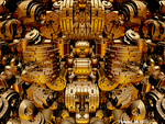 Golden Engine by fraxialmadness3