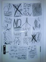 Slender: The Arrival - All pages from Kate's room by TheBandicoot