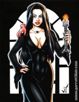 Ricci Morticia commission by gb2k