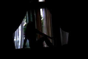 Window Silhouette 7 by IllusionsGlade