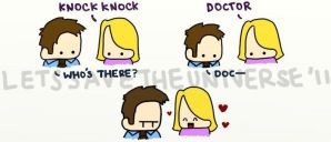 Knock knock, Doc by LetsSaveTheUniverse