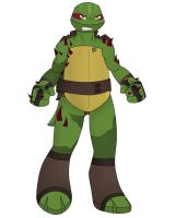 Raphael (double mutated) by Mutant-Girl013