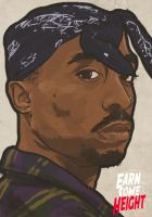 Tupac by EarnSomeHeight