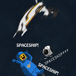 Spaceship by Wolf-Shadow77
