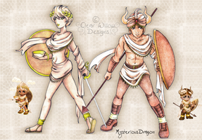 Ancient Warriors by ClearWillow