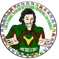 VanHinck's 'Terrible' Loki by pentharis