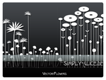 Vector-Flowers 1 -PS Brushes by crazy-alice
