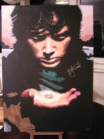 Frodo painting signed and finished by Elijah-Jordan-Wood