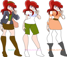 Julie Designs by Chibifangirl01