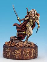 Wood Elf Painted by Tish Wolter by newboldworld