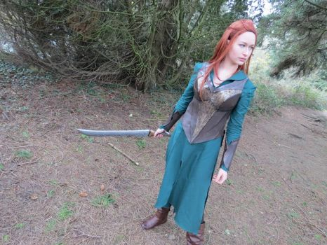 Desolation of Smaug: Forest Daughter by roguearcanis