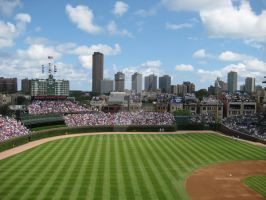 Good Ole' Wrigley Field by Muitabui