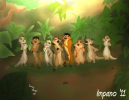 Timon's Extended Family by Impano