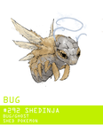 Pokemon Type Challenge #1 Shedinja by Gnin