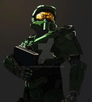 Master Chief by Naamanan
