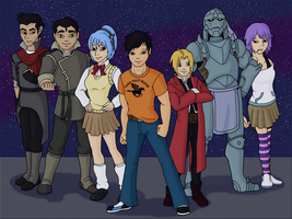 Com: Adventures of the Silver Bullets by LadyLoriel