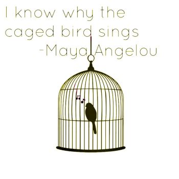 i know why caged birds sing I know why the caged bird sings lyrics: got a lover boy and he's so fly / i'll bow  my head and close my eyes / when the blues weighs heavy on his hands / and.