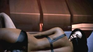 femShep-Samantha-Bed-Wake-up-Gif-ME3 by kevin4