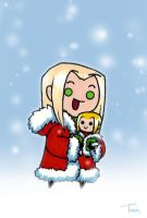 Vexen and Chilly Chibis by BeagleTsuin