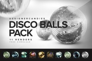 Free Disco Balls Pack by DesignerCandies