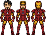 Iron Man Mark III armor by JohnnyMuffintop
