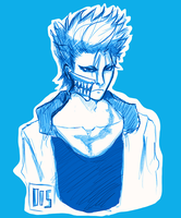 Grimmjow #Sketch by SHINeeDos