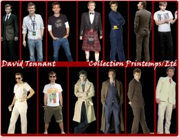 David Tennant Collection 1 by Amrinalc