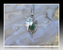 'Cernunnos the God of Nature' handmade pendant by seralune
