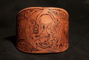 Undertow Leather Bracelet by Penpen2
