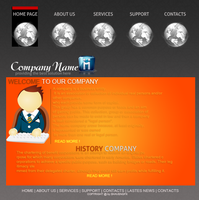 Company Web Interfaces by snakeARTWORK