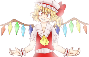 Bad Apple - Flandre by Tomatobox-Fairy
