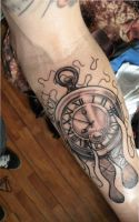 clock nd tattoo by WillemXSM