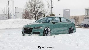 Audi A3 in snow by RNTdesign