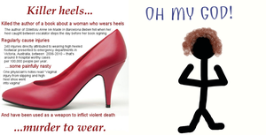 The Truth about Heels by EarWaxKid