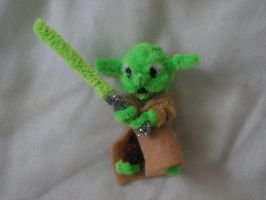 Yoda by fuzzyfigureguy
