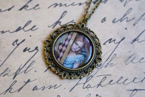 Little Alice Necklace by MonsterBrandCrafts