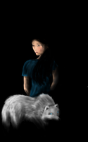 Girl and Wolf by Lynx38