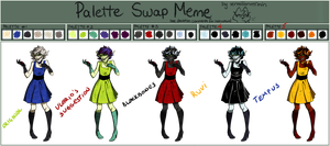 Palette Swap meme by kevintheradioguy