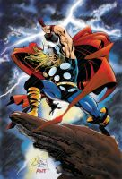 Thor by Deodato colors by me by antgarcia