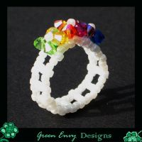 Rainbow ring by EssiesJewels