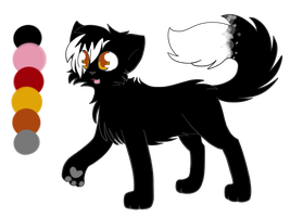 New Deathpaw Ref by Skycloud-Nya
