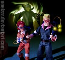 Real Ghostbusters - There's Something Here by noelzzz