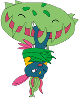 Sneasel Tickled by Carnivine